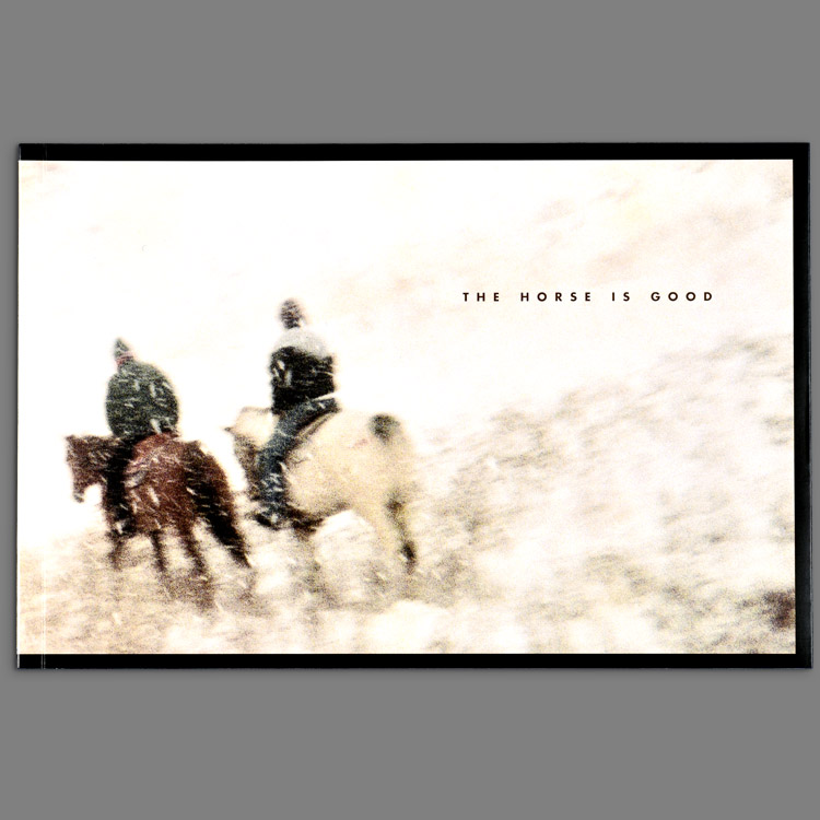 Bookcover of Horse is Good by Viggo Mortensen