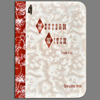 Hardbound bookcover of Western Witch by Georganne Deen