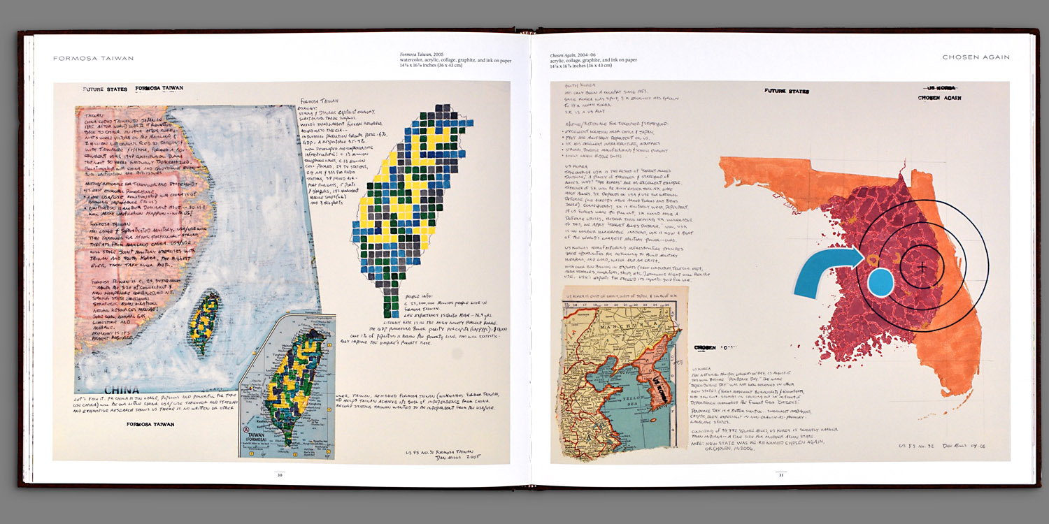 US Future States Atlas by Dan Mills